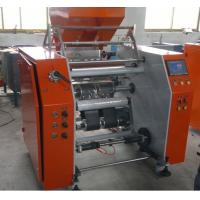 Quality MJ-F450 Stretch Film Rewinding Machines Small Cling Film Roll  , Automatic Core loading for sale