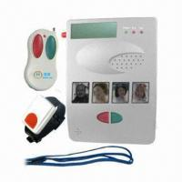 Quality Emergency call PSTN alarm system, two-way communication with wrist panic button for sale