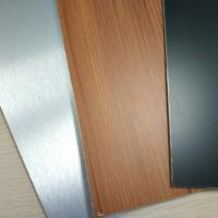 Buy cheap Brushed Finish Stainless Steel Composite Panel Exterior Wall Cladding Designs from wholesalers