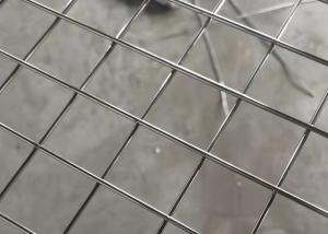 Quality concrete reinforcement/silver/animal cage Stainless Steel Welded Wire Mesh Panel for sale