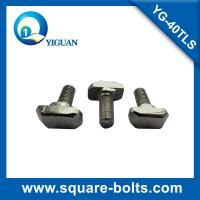 Quality T head slot bolt, hammer head slotted bolt for 40 industrial profile for sale