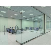 Quality Soundproof Glass Partition Walls Laminated For Shopping Mall for sale