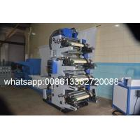 Quality Cutting Slitting Five Colour Flexographic Printing Machine For Adhesive Paper Labels for sale