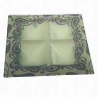 China Glass Cake Plate for Dinnerware, Tableware, Partyware and Hotelware on sale