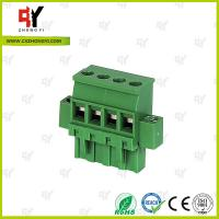 Quality Connector Terminal Block Wire Range 28-12 AWG , Plug Terminal Block for sale