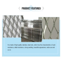 """Quality W27"""" Expandable Wire Mesh , CE Self Furring Stucco Wire for sale"""