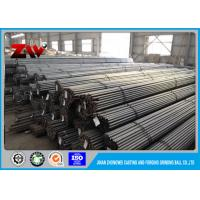 Quality Cement Plant Grinding 60Mn B2 Steel rod for rod mill , Dia 30 mm to 140mm for sale