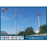Buy cheap Hot Dip Galvanized  Telecommunication Towers For  Signal Broadcasting from wholesalers