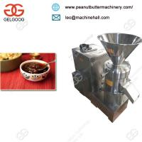 Buy cheap Industrial High Quality Small Stone Chutney Grinder Making Machine/Peanut Butter from wholesalers