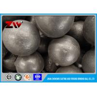 Quality Oil quenching high Cr 18 Forged Grinding Steel Balls for Mining / Power Plant for sale