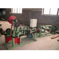 China Automatic Barbed Wire Making Machine , PVC Coated Barbed Wire Fencing Machine on sale