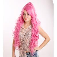 Buy cheap Hot-Sale High Quality 100% Heat-Resistance Fiber Long Crazy Color Curly Princess from wholesalers