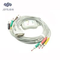 Buy HP 10 lead ,ekg cable with leadwires 4.0mm/3.0mm pin at wholesale prices