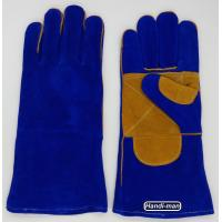 14 inch Split Leather Safety Welding Gloves