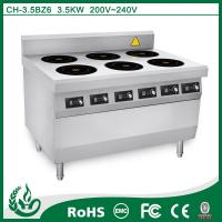 Quality Kitchen and restaurant commercial electric induction range for sale
