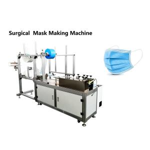 Quality Plc Surgical Flat 3 Layer 8000BPH Mask Manufacturing Machine for sale