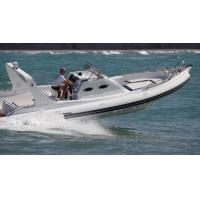 Quality 9.6m Orca Hypalon Inflatable Rib Boat Rib960B  With Cabin Console / Large Sunbed for sale