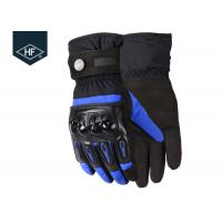 Quality Velvet Inside Aftermarket Motorcycle Accessories Full Finger Waterproof Winter Motorcycle Gloves for sale