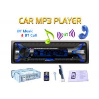 China Detachable Panel Bt Car Stereo Wireless Bluetooth 4 Ways Speaker Output on sale