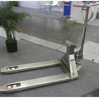 Quality Mobile Hand Pallet Jack With Weight Scale 5500 Lb Stainless Steel Material for sale