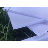 China High Strength Expanded Foam Sheet , White Kitchen Exterior Foam Board on sale