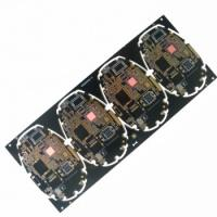 Quality Quick-turn around BGA Multilayer PCB with 6 Layers and Immersion Gold Surface for sale