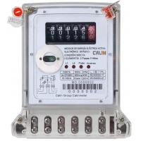 China Compact 2 Phase Wireless Watt Meter Poly - Carbonate Durable Amr Electric Meter on sale