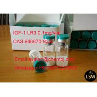 Quality 98% Purity Legal Human Growth Hormone Peptide 0.1mg/ Vial IGF-1 LR3 CAS 946870-92-4 for sale