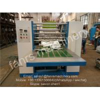 Quality Blue Color Food Box-packed Foil Sheet Folding Machine For Pop up Paper Use for sale