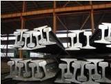 Quality Din Standard Heavy Type Steel Crane Rail , Customized Length for sale