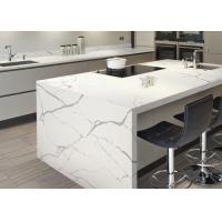 Modern Style Man Made Quartz Kitchen Countertops And Island Eased Edge