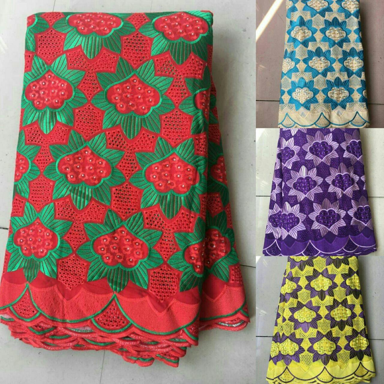 Quality Royal blue flower white lace embroidery natural polish lace fabric for many uses for sale