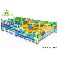 Giant Indoor Play Areas For Toddlers , Soft / Safe Kids Indoor Playhouse