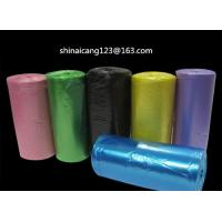 WHITE HDPE PEDAL BIN LINER BAGS ON ROLL 500*600mm 10mic 30L garbage bag