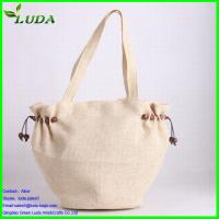 Quality recycled non woven straw bag for sale
