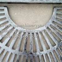 Quality Custom Landscape Architecture Design Parts 1000mm Square Cast Grey Iron Tree Grate In Two Halves for sale