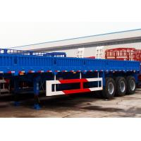 Quality TITAN tri axles 40 ft container transport semi trailer cargo trailer wall panels for sale