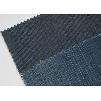 Quality Tear - Resistant 9oz Denim Jeans Material For Shirt Soft Touch for sale