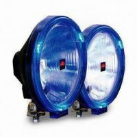 Quality 9-inch H1 Professional Driving Lamp with Unique Blue LED Halo Ring for Position Lighting for sale
