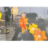 Quality Artificial Orange Acrylic Decoration Acrylic Flower In D50cm Custom Outlook for sale