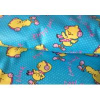 China cotton printed brushed wholesale baby flannel fabric on sale