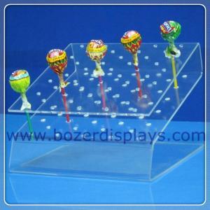 China Fashionable Acrylic Lollipop Display Stand on sale