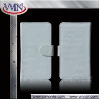 Buy DIY customized Factory Wholesale Flip white Canvas Wallet Leather Case for at wholesale prices