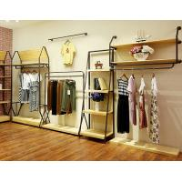 Quality Durable Lady'S Clothing Display Racks Shop Clothes Rack Fashionable Design for sale