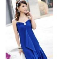 Quality Sexy Girl Auger Tilt Place Wai Skirt With Shoulder-Straps& Women Dress (03-023) for sale