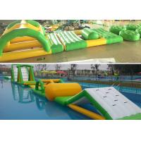 China Seaside Series Summer Fun Inflatable Aqua Park Floating Water Playground on sale