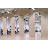 Quality Sound Proof Floor or Ceiling Folding Partition Wall / Rolling Room Dividers for sale