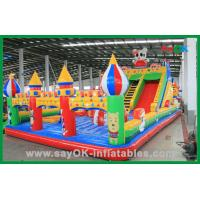 China Kids Fun Inflatable Castle , Large Inflatable Bouncer , Giant Bouncy Castle on sale