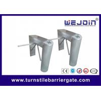 Quality Durable Access Control Barriers Counter Esd Fingerprint Rfid Tripod Turnstile Gate for sale