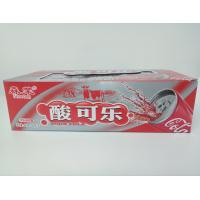 Quality Sour Cola Flavor Long Stick Shape Chewy Milk Candy Good Taste for sale